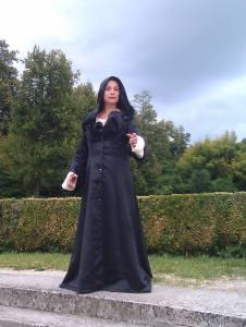 Sorceress at Villa Pisani, Italy