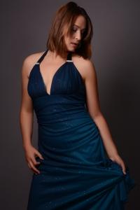 Krysia Mansfield blue dress